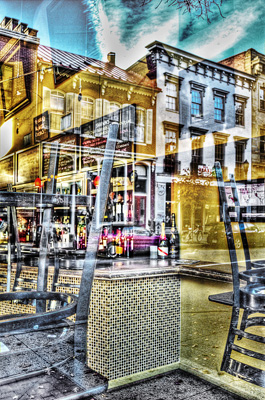 Chairs and Storefronts