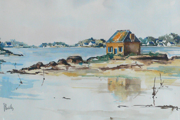A Fisherman's House in Brittany
